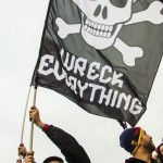Salt City United (SCU) Wreck Everything Flag